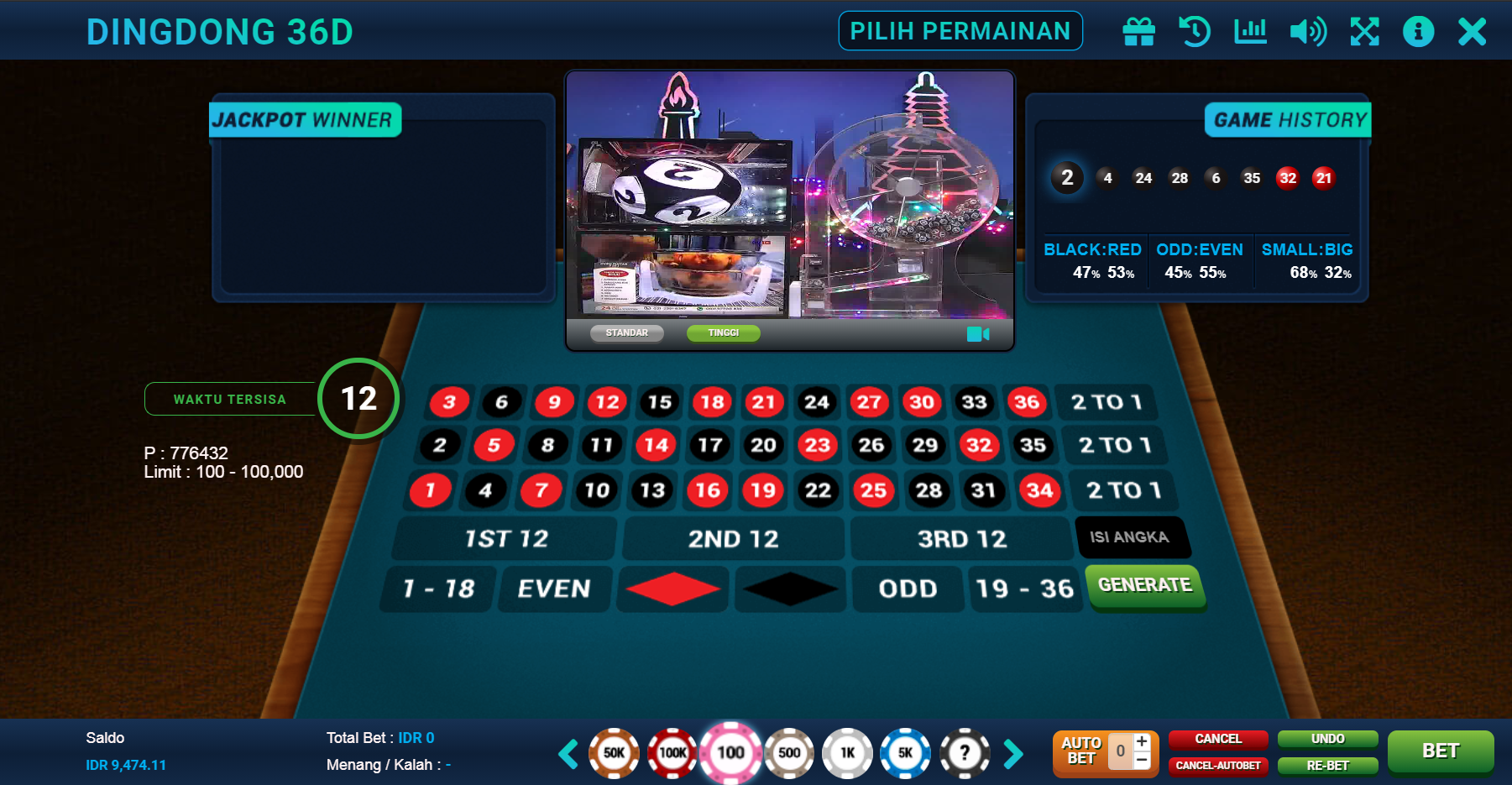 Tips Terbaik Bermain Live Dingdong 36D Di Afatogel